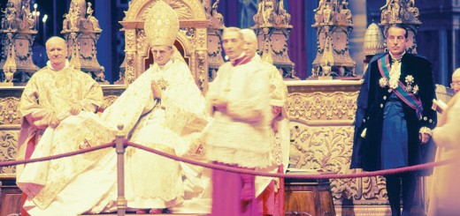 Vatican II Papal Throne