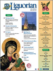 2016 May-June Liguorian Contents