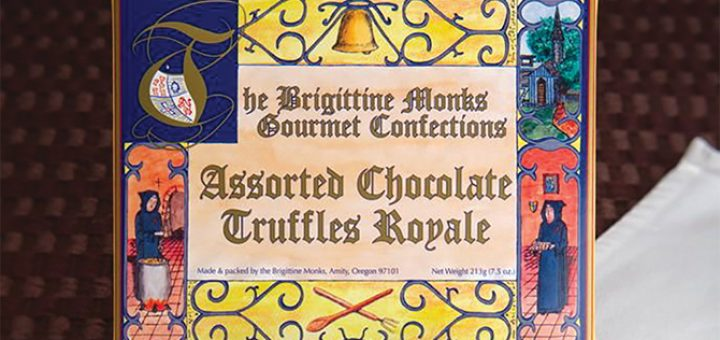 The Brigittine Monks Chocolate Truffles Royale