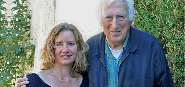 Jean Vanier and Carol St. Laurent